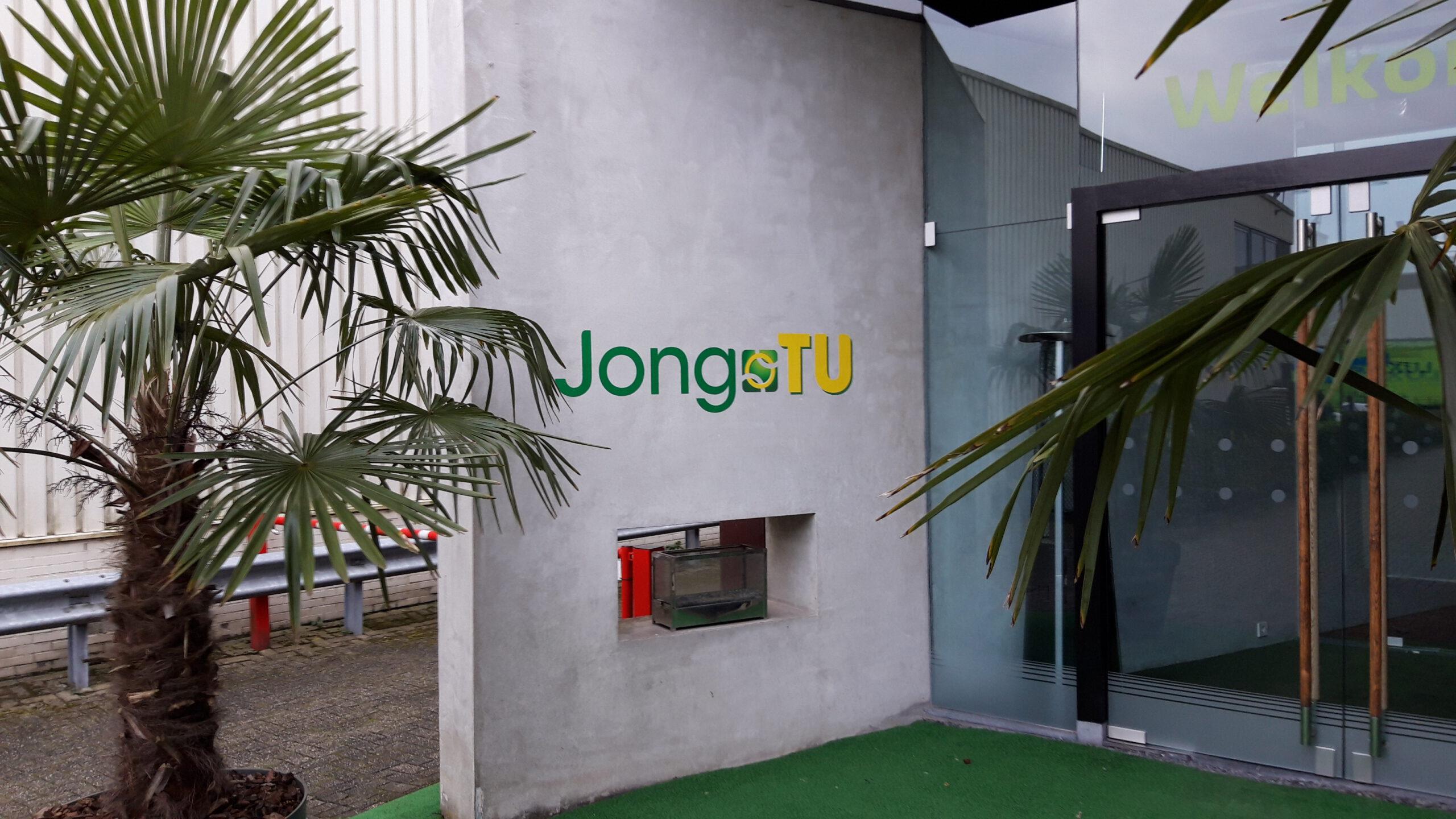 Tekst in folies op muur als muursticker bij Mindcenter in Vianen